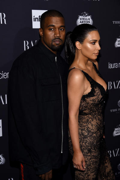 Kanye West and Kim Kardashian: No Smiles!