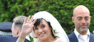 Lily Allen and Sam Cooper: Married!