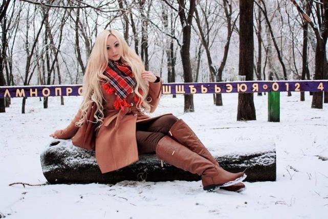 Alina Kovalevskaya, Human Barbie
