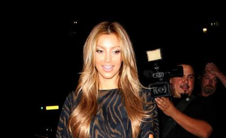 Kim Kardashian Goes Blonde, Space-Aged