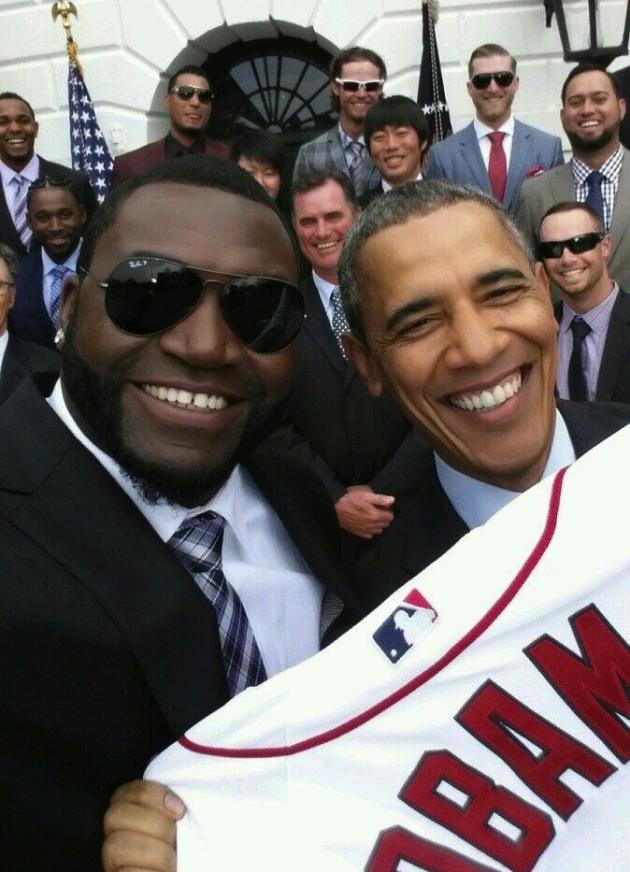 Ortiz-Obama Selfie