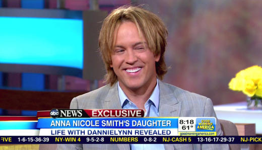 Larry Birkhead on GMA