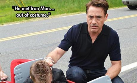 Meeting Iron Man