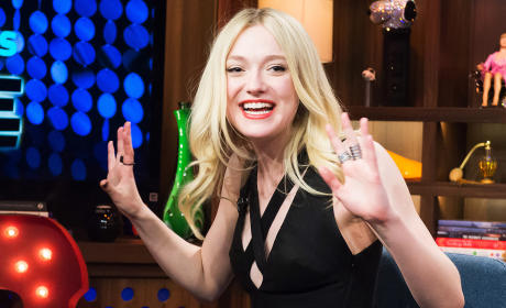 Dakota Fanning on Watch What Happens Live