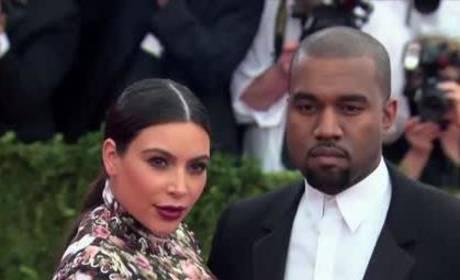 Kim Kardashian, Kanye West Visit Mansion in Style
