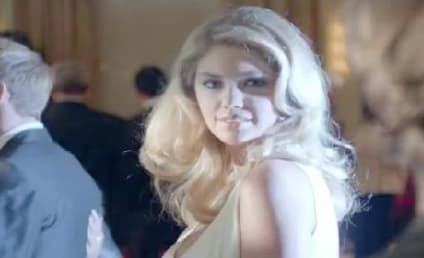 Mercedes Super Bowl Ad: Kate Upton! Usher! Willem Dafoe!