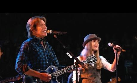 Sawyer Fredericks and John Fogerty - Born on the Bayou / Bad Moon Rising (The Voice)
