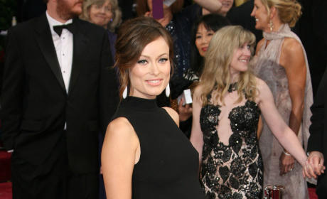 Olivia Wilde at the Oscars