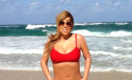 Mariah Carey Bikini Photo: Red Hot!