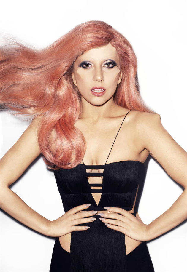 Gaga: Pretty in Pink