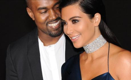 Kim Kardashian and Kanye West: Our Baby Doesn't Have a Name!
