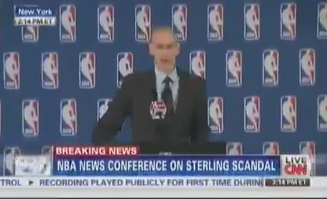 Adam Silver Bans Donald Sterling from NBA for Life, Fines Clippers Owner $2.5 Million