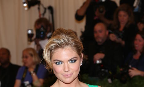 Kate Upton in Green