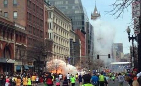 Boston Marathon Bombing: At Least 3 Dead, 176 Injured By Blasts Near Finish Line
