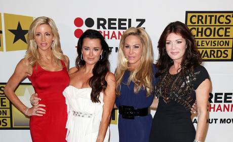 Camille Grammer, Kyle Richards, Adrienne Maloof and Lisa VanderPump