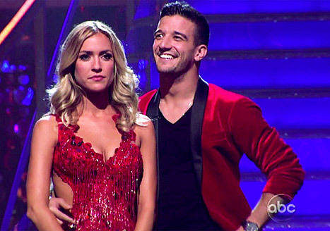 Kristin Cavallari and Mark Ballas Pic