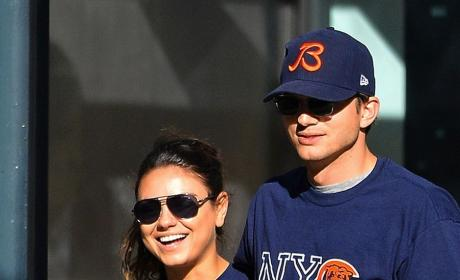 Ashton Kutcher: Spotted with Mila Kunis in Iowa