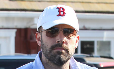 Ben Affleck in a Hat