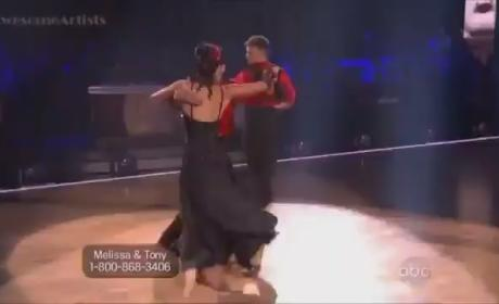 Dancing With the Stars Recap: Melissa Rycroft is Patriotic, Perfect!!