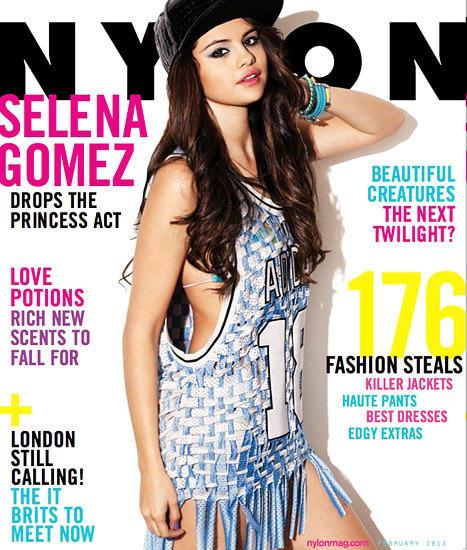 Selena Gomez Nylon Cover