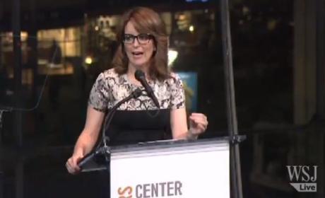 Tina Fey at Center for Reproductive Rights Gala