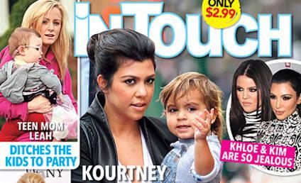 Kourtney Kardashian: Pregnant... and Alone?!?