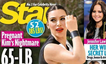 Kim Kardashian: Melting Down Over Weight Gain!