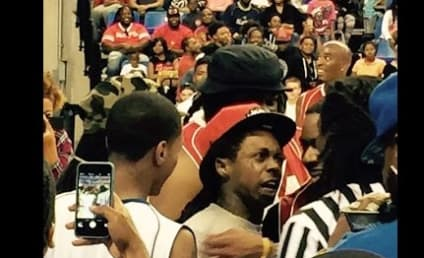 Lil Wayne Attacks Ref During Anti-Violence Charity Basketball Game