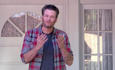 Blake Shelton Issues Crass Warning To Haters