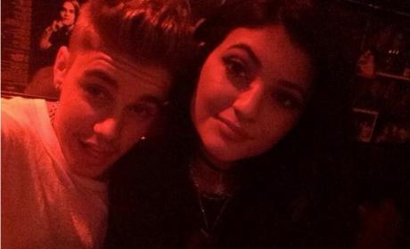 Justin Bieber and Kylie Jenner: Sunset Strip Selfie Sparks Relationship Rumors