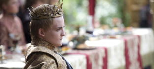 King Joffrey Death Photos!