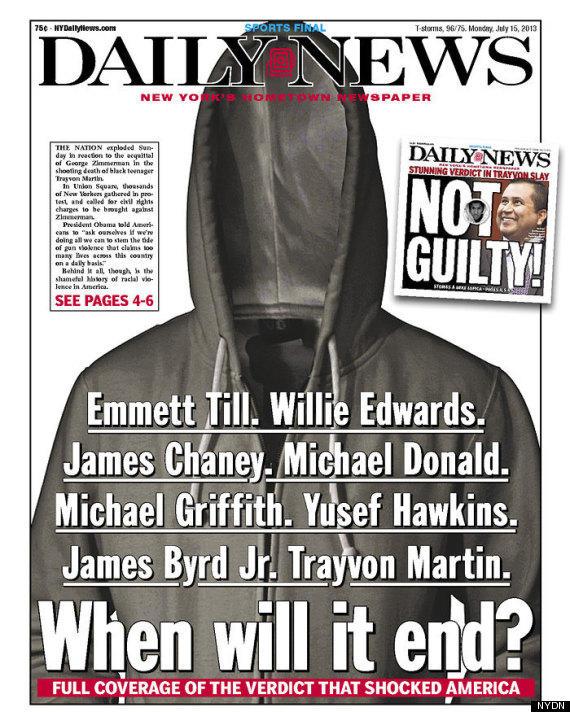 Trayvon Martin Cover