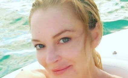 Lindsay Lohan Actually Looks Normal and Happy and It's Freaking Us Out