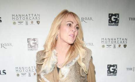 Dina and Michael Lohan End Ceasefire, Blow Up on Set of The Test