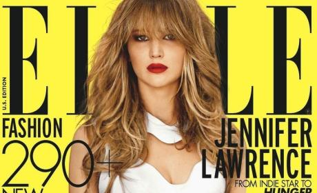 Jennifer Lawrence Elle Cover