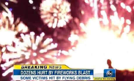 Simi Valley Fireworks Malfunction: 4th of July Mishap Injures 28