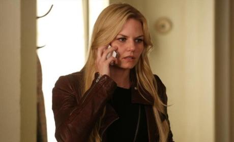 Emma on the Phone