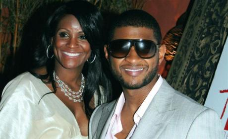 Usher's Mom Engaged; Tameka Foster Mum on Pregnancy Rumors