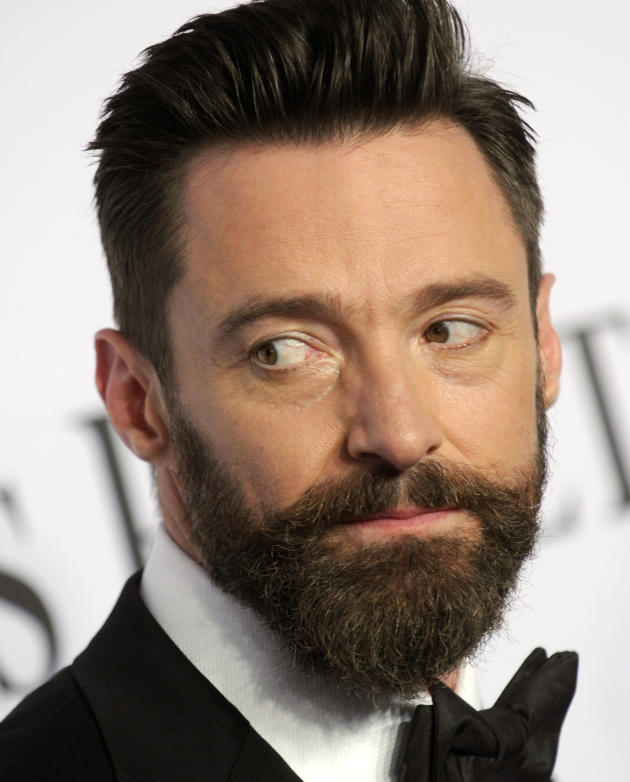 Hugh Jackman at the Tonys