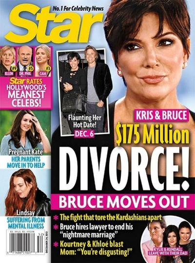 Kris Jenner Divorce Story