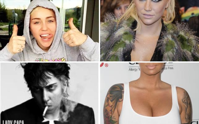 Miley cyrus thumbs up