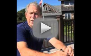 George W. Bush: Ice Bucket Challenge