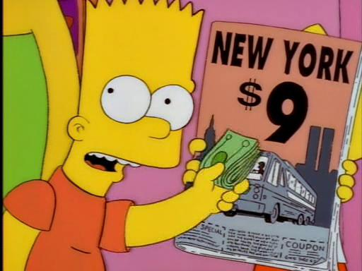 The City of New York vs. Homer Simpson (Season 9)