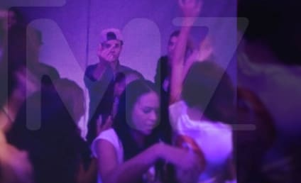 Justin Bieber Flips Off Camera at Maxim Party, Keeps it Classy as Always