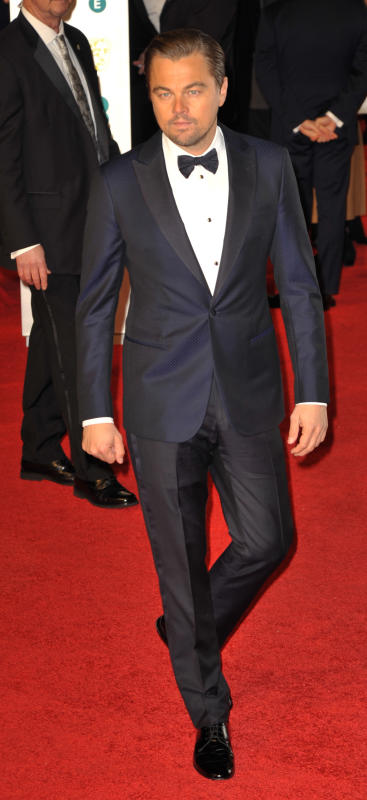 Leonardo dicaprio ee british academy film awards