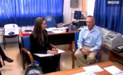Angelina Jolie Visits Haiti, Is Awesome