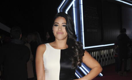 Gina Rodriguez: Premiere of 'Star Wars: The Force Awakens'