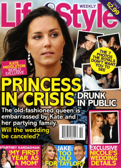 Kate in Crisis!