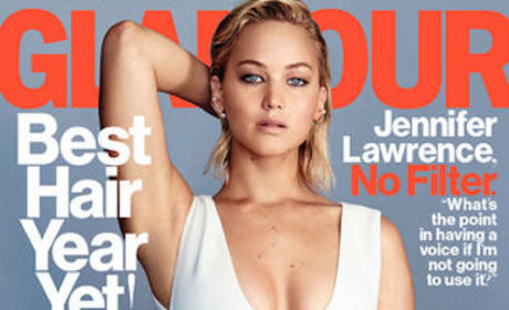 Jennifer Lawrence Glamour Photo