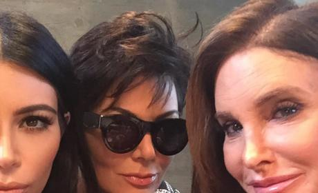 Kim, Kris and Caitlyn